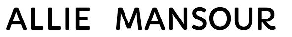 Allie Mansour Logo